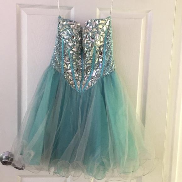 Dresses   Short Sassy But Classy Prom Dress   Poshmark